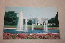 Vintage Postcard The White House, Washington, D.C.       b