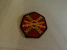MILITARY PATCH US ARMY COLORED FOR SHOULDER INSTALLATION MANAGEMENT