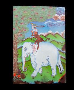 Postcard Tibetan Buddhist Symbolism Immortal Friendship 9247