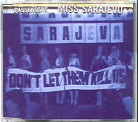 Passengers (U2) - Miss Sarajevo - Deleted UK 4 track CD
