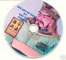 THE ART OF WAR BY SUNZI  (Sun Tzu) CD AUDIOBOOK
