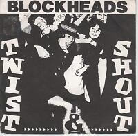 "THE BLOCKHEADS - Twist & Shout - Original 1982 French 2-trk 7"" vinyl single  p/s"