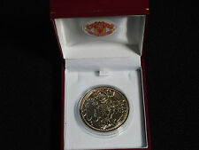 MANCHESTER UNITED 1996 PREMIER LEAGUE CHAMPIONS MEDAL WITH RED BOX AND CREST
