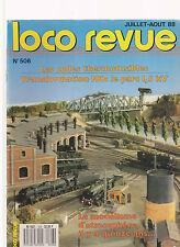 LOCO REVUE N° 506 NEUVILLE CERDON / PRS SNCF / CC 72000 / TIV FIXES