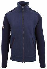 VAN SANTEN & VAN SANTEN Strickjacke Cardigan Größe L 100% Baumwolle Cotton Navy