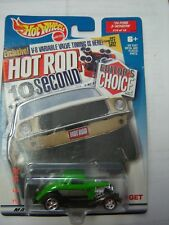 Vintage Hot Wheels 2000 Special Edition Hot Rod 34 Ford 3-Window Target edition