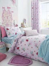 Pink Fairies Single Duvet Cover Set