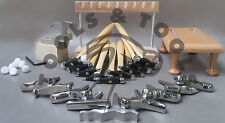 9 Texturierung Hammer, 10 Miniatur Pfähle Entwerfen Bildung Schmuck Metall