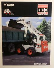 Bobcat 883 G-Series Skid-Steer Loader Dealership Ad Flyer