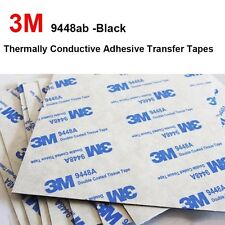 25pcs 3M9448A 20x20x0.15mm Double Coated Tissue Tape Thermally Conductive