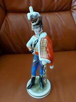 AK Kaiser  Porzellan Figur -Napoleon's Général de division Junot -