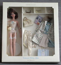 Beautiful Silkstone Continental Holiday Barbie giftset NRFB Fashion Model
