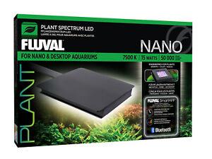 Fluval NANO Plant LED 15 W Beleuchtungssystem App gesteuert / Aquarien LED Lampe