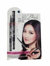 Mistine Super Black Eyeliner MakeUp Artist Recommended 0.05 mm Draw 2.80 mm