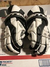 Harrow Torrent Mens 13.5 Lacrosse Gloves Black And White