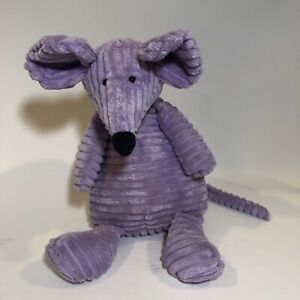 "Jellycat Cordy Roy Mouse Purple Plush 16"" Soft Fuzzy Toy Stuffed Animal"