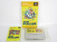 SUPER MARIO WORLD Ref/ccc Super Famicom Nintendo Free Shipping Japan Game sf