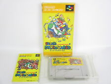 SUPER MARIO WORLD Ref/ccc SUPER Famicom Nintendo Japan Game sf