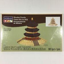 Art Minds Temple of Heaven 3D Unpainted Wooden Puzzle 301 pcs