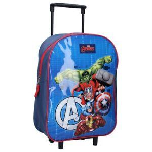Kindertrolley Trolley Koffer Rucksack Kindergarten Kinder Tasche Avengers Marvel