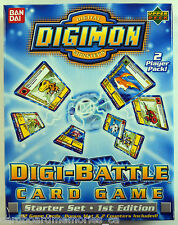 Digimon Factory Sealed Digi-Battle Card Game 1st Edition Starter Set