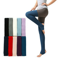 Women Thick Knit Over Knee Thigh High Stockings Leg Warmers Winter Long Socks