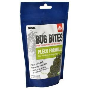 Fluval Bug Bites Pleco Formula Sticks for Medium-Large Fish