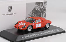 1962 Porsche 718 GTR Coupe #108 Winner Targa Florio  Viva Vaccarella 1:43 Spark