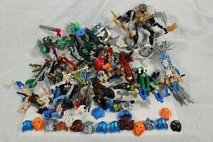 Lego Bionicle Figure Huge Bundle Masks Spare Parts Mixed Job Lot Weapons RARE
