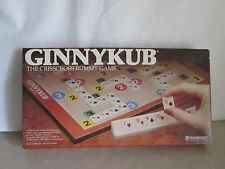 1983 Ginnykub Rummy Board Game