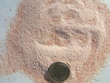 1 oz. red calcite fine crushed inlay powder / stone / material