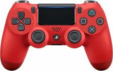 6-Sony PlayStation Dualshock 4 V2 Controller - Magma Red (CUH-ZCT2G 11)