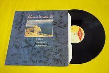 """Hombres G – Huellas En La Bajamar / Temblando (EX/EX)  Maxi Vinyl  12""""ç"""