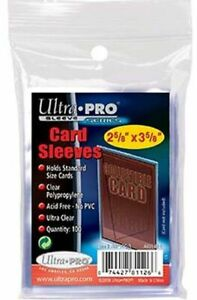 Ultra-Pro Trading Card Sleeves (100 Pack)
