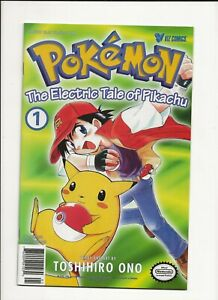 Pokemon The Electric Tale of Pikachu Comics Issue #1 #2 #3 English