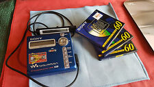 SONY MDLP Walkman MZ-N707 MiniDisc Player Recorder + 3 MD,s