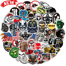 100 Pcs Hard Hat Stickers Funny Construction Vinyl Decals Sticker For Tool Box