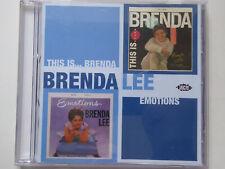 BRENDA LEE * This Is Brenda / Emotions * NM (CD)