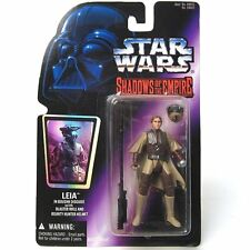 NEW STAR WARS SHADOWS OF THE EMPIRE LEIA IN BOUSHH KENNER / HASBRO 1996 FIGURE