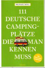 Wohnmobil Campinplatz Stellplatzführer 2020/21 Deutschland 111 Deutsche Plätze