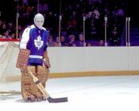 Jacques Plante Toronto Maple Leafs 8x10 Photo
