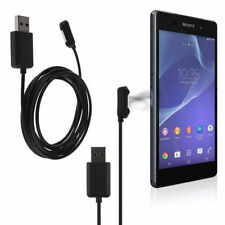 1m Magnetic USB Charging Cable Cord Charger for Sony Xperia Z1 Z2 Z3 Compact US
