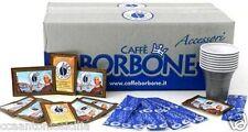 KIT BORBONE ORIGINALE 600 BICCHIERI CAFFE, PALETTE, ZUCCHERO