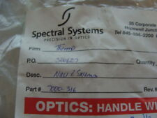 Spectral Systems NaCl Disk 25x4mm (PN:7000-316)
