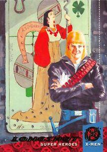 LONGSHOT / X-Men Fleer Ultra 1994 BASE Trading Card #40