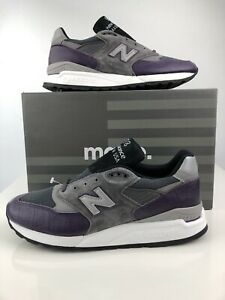 New Balance 998 Faux Croc Purple Mens 10.5 Made in USA M998AWH