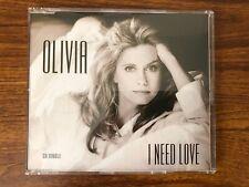 Olivia Newton John - I Need Love CD Single