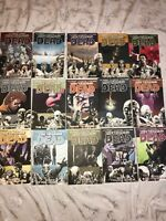 the walking dead comic books Graphic Novels lot Twd  Volume 1-15