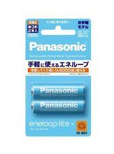 New Panasonic eneloop lite Battery BK-3LCC/2 950 mAh AA Rechargeable Japan