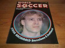September World Soccer Football Sports Magazines